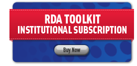 RDA Toolkit Institutional Subscription, Buy