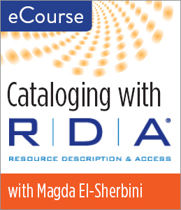 Cataloguing with RDA eCourse